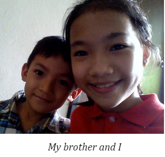 cute brother